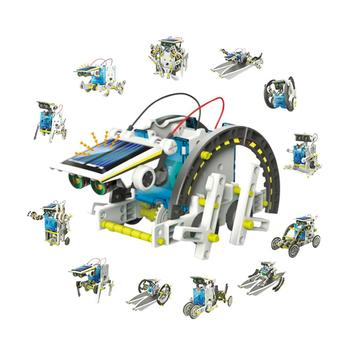 Solar Power Robot Kit DIY Toy Solar Toys Transformation Robot Kit Educational Gift Toys for Children Boy electronic toys sound light walking robot dog robot toy educational toys for children musical lol electronic pet dog