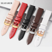 Tonton Aksesoris 12 Mm-24 Mm Genuine Leather Watch Band untuk DW Daniel Wellington Watch Tali Fashion Pink Watchbands(China)