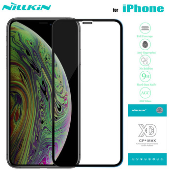 for iPhone 11 Xr 8 7 SE2 Tempered Glass Nillkin XD Full Coverage 3D Safety Glass for iPhone 11 Pro Max X Xs Max 8 7 Plus SE 2020