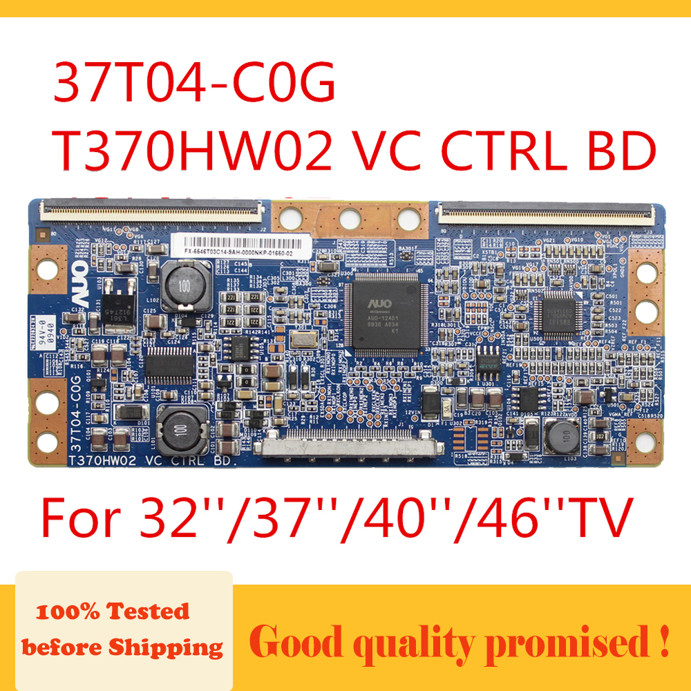 Tcon Board T370HW02 VC CTRL BD  37T04-C0G 32   37   40   46   TV For Samsung Replacement Board Original Product Free Shipping
