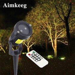 Светодиодный светильник для лужайки, открытый водонепроницаемый лазерный проектор с эффектом звездного неба, декоративный светильник для ...