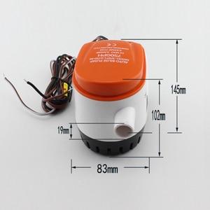 Image 4 - HCSSZP 750GPH automatyczna pompa zęzowa do łodzi 12V DC zatapialna elektryczna pompa wodna mała 12 v volt 750 gph do łódź morska