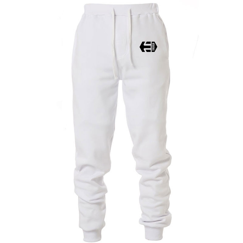 Jogger Pants Trousers Full-Sportswear-Pants Skinny Fitness Cotton Casual Mens Elastic