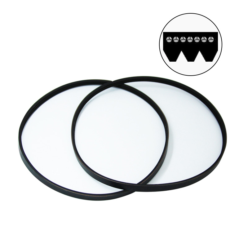 2pcs 3 Ribbed Rubber Drive Belt 3PJ605 Replacement V-Belt For Thicknesser Planer Einhell TH-SP-204 W588 ERBAUER ERB052BTE