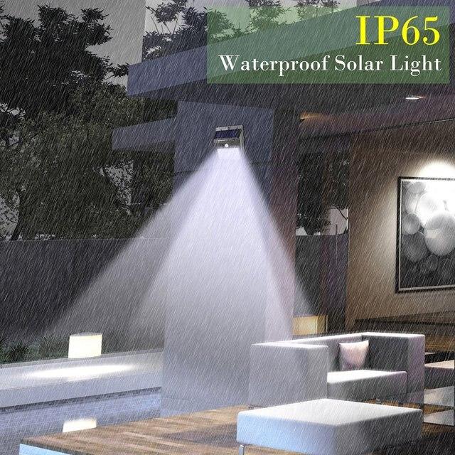 20/30/48/100 LED capteur solaire rues lumière PIR capteur de mouvement mur lumières étanche IP65 extérieur jardin Yard lampe de secours