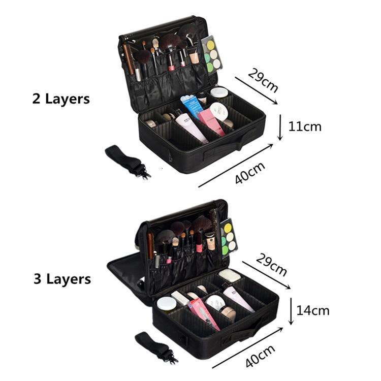 higiene pessoal portátil caso organizador de viagem de maquiagem para mulher