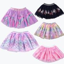 VOGUEON 2020 летняя детская многослойная Тюлевая юбка-пачка, милое красочное мини-платье принцессы, детская одежда, юбка-пачка, одежда для девоче...