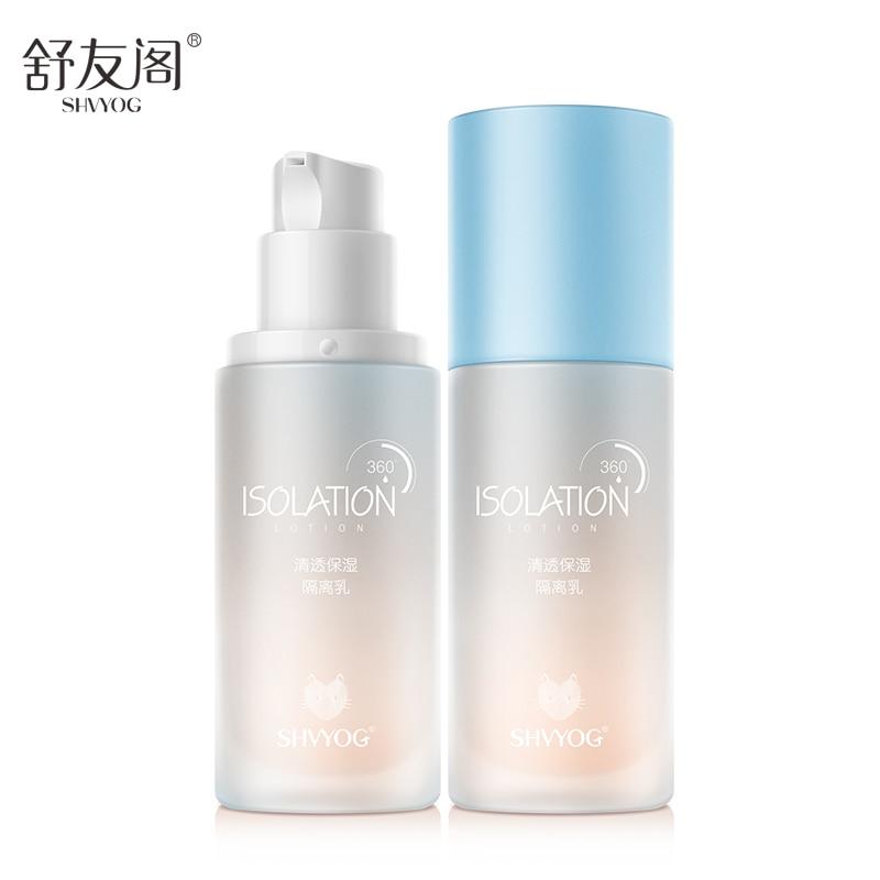 SHVYOG BB Creme Isolation Basis CC Kosmetik Concealer Make up Professional Abdeckt Foundation Ton Gesicht Make-Up Sonnencreme