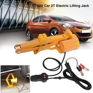2Ton 12V DC Automotive Electric Jack Car Automatic Lifting Jack Garage Emergency Equipment Lifting Tools Vehicle Car Repair Tool
