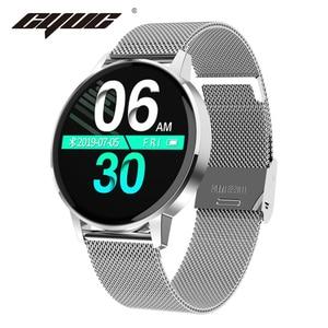 Image 1 - CYUC T4 IP67 ผู้หญิงกันน้ำ Smart Watch Heart Rate เครื่องวัดความดันโลหิต Fitness Tracker Sport smartwatch สำหรับ Android IOS