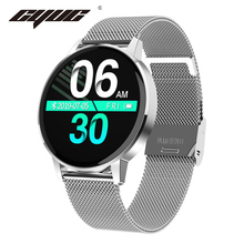 CYUC T4 IP67 Waterproof women smart watch Heart rate Blood pressure monitor Fitness tracker men sport smartwatch for Android IOS
