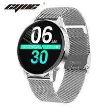 CYUC T4 IP67 مقاوم للماء النساء ساعة ذكية معدل ضربات القلب ضغط الدم رصد جهاز تعقب للياقة البدنية الرجال الرياضة smartwatch ل IOS أندرويد