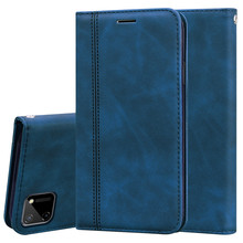Realme C11 Case Luxury Business Magnetic Flip Case For OPPO Realme C11 Leather Wallet Cover Phone Case For OPPO Realme C11 Case