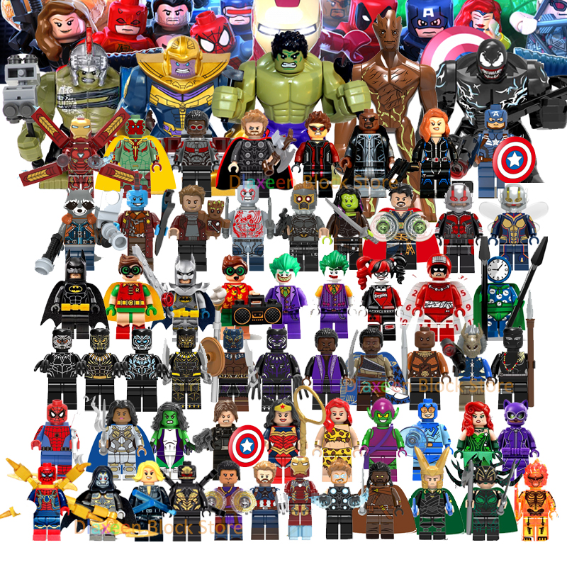 Super Hero Avengers 4 Endgame Doctor Strange Hulk Iron Man Black Widow Brick Building Blocks Legoinglys Mini Action Figures Toys