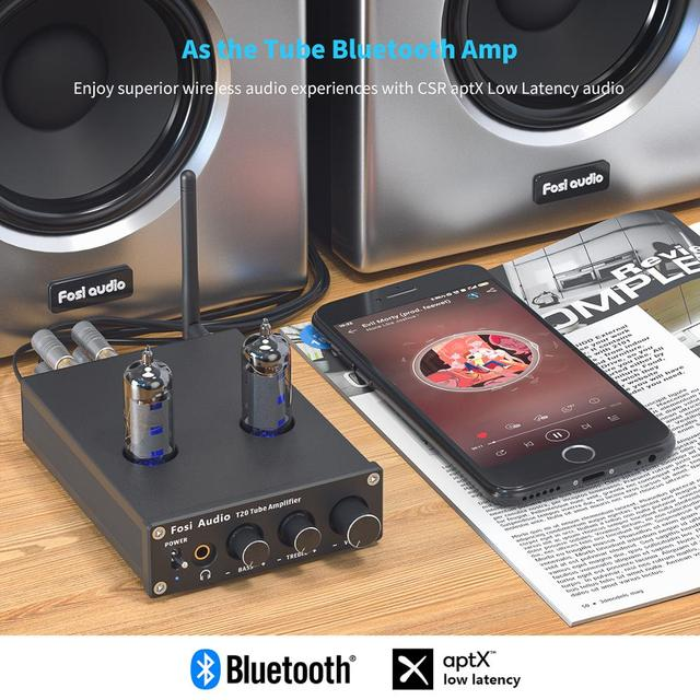 Power Amp Portable Headphone Amplifier For Home Passive Speakers 6
