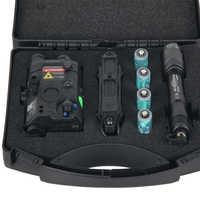 Linterna táctico Element Airsoft PEQ 15 Surefire M600, luz PEQ15 L3-NGAL, láser verde, luz táctica para armas EX471