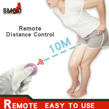 SMOO Butterfly Dildo Vibrator Wearable G Spot Clitoral Stimulator Massager Wireless  Sex Toy For Women Masturbator