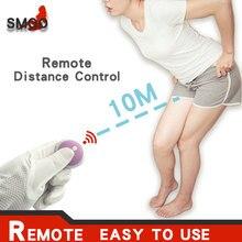 SMOO Butterfly Dildo wibrator poręczny G Spot stymulator łechtaczki masażer bezprzewodowy Sex zabawki dla kobiet Masturbator