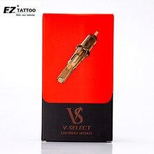 Ez V Selecteer Cartridge Naald #10 Bugpin Gebogen Magnum Tattoo Naalden Elastische Membraan Voor Rotary Cartridge Tattoo Machine 20 Pcs