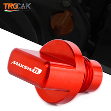 New For SYM MAXSYM TL 500 Maxsym TL500 2019 2020 Motorcycle CNC Accessorie Oil Filler Fill Cap Plug Cover Engine Oil Cup