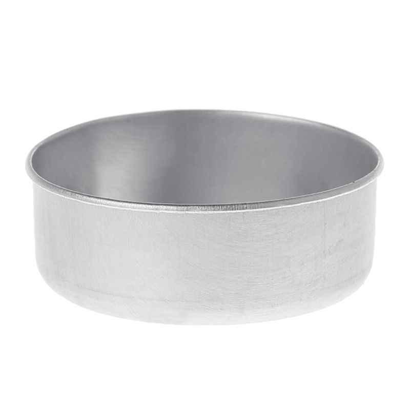 5 sztuk prosta aluminiowa obudowa świecznik DIY świecznik rzemiosło artystyczne festiwal Party zwięzłe gospodarstwo domowe pulpit ozdoba dekoracyjna
