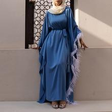 Robe Djellaba Femme Vestidos Kaftan Dubai Abaya Turkey Muslim Fashion Hijab Dress Islam Clothing Dresses Abayas For Women Caftan