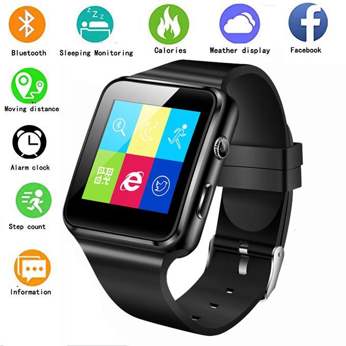Sports-Fitness-Tracker Good-Helper Smart-Watch Alarm-Clock Support Tracking Sleep Phone
