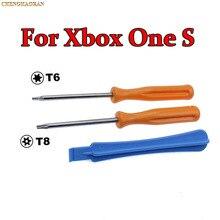 100ชุดเกมชุดเครื่องมือสำหรับ Microsoft Xbox One Elite / S Slim Controller Torx ความปลอดภัย T8 T6ไขควงฉีกขาดลงซ่อมเครื่องมือ