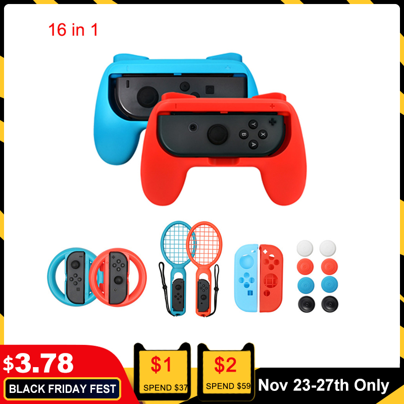 Controller Grips Case For Nintendo Switch Console ABS Handle Grips Protective Case For Nintend Switch Accessories|Cases| - AliExpress