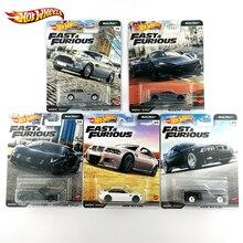 Hot Wheels Fast and Furious Euro Fast, voiture BMW M3 E46 McLAREN 720S 1/64 édition Collector en alliage métallique modèle de voiture GBW75