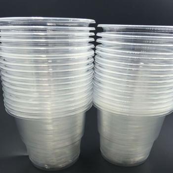 20 100pcs nowe tworzywo PP produkcja krystalicznie czyste 80 ml jednorazowe piknik na świeżym powietrzu plastikowy kubek do degustacji tanie i dobre opinie CN (pochodzenie) Plastic All Occasions