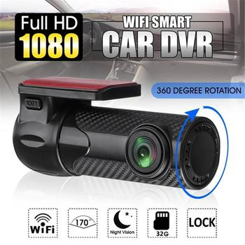 1080P Mini 170 Degree Wide Angle G-sensor Car DVR WIFI Dash Camera Night Vision With Microphone Hidden Video Recorder APP HD original philips cvr 108 car dvr camera 130 degree driving video recorder dash camera 1080p with g sensor wdr night vision