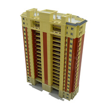 1:200 Scale Sandtable Model Building City Landscape ABS Architectural  Gift Toys