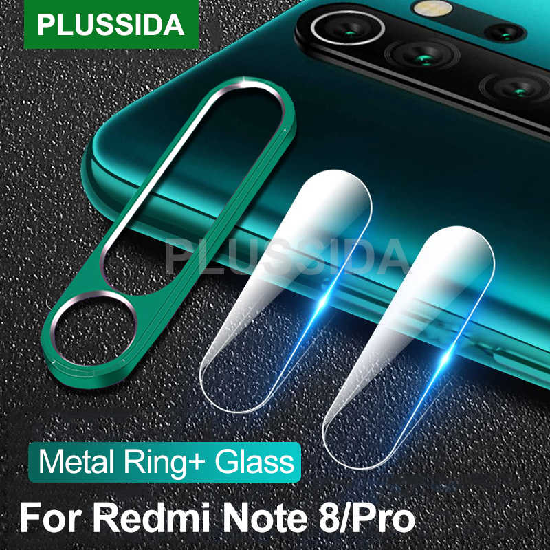Perlindungan Kamera untuk Xiaomi Redmi Note 8 Pro Note8 Case Metal Ring Cover Xiomi Redmi Note 8 T Note8 pro Case Redmi Note8 8 T