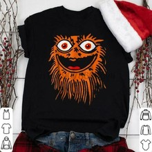 Gritty Mascot Face Sports Team Shirt for Sport Fan S to 3XLCartoon t shirt men Unisex New Fashion tshirt free shipping funny(China)