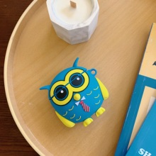 Earphone Case For Airpods Silicone Cartoon animal owl Headphone Covers AirPods Cases Earpods charging Accessories