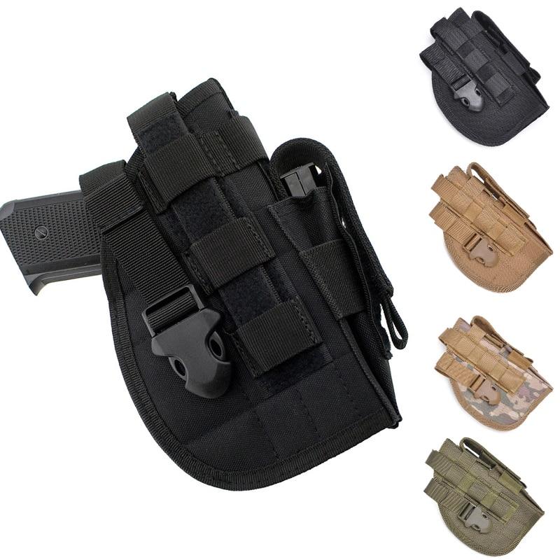 Universal Quick Release Gun Pouch Right Hand Tactical Gun Holster Pistol Holster for Glock 17 19 22 23 25 30(China)