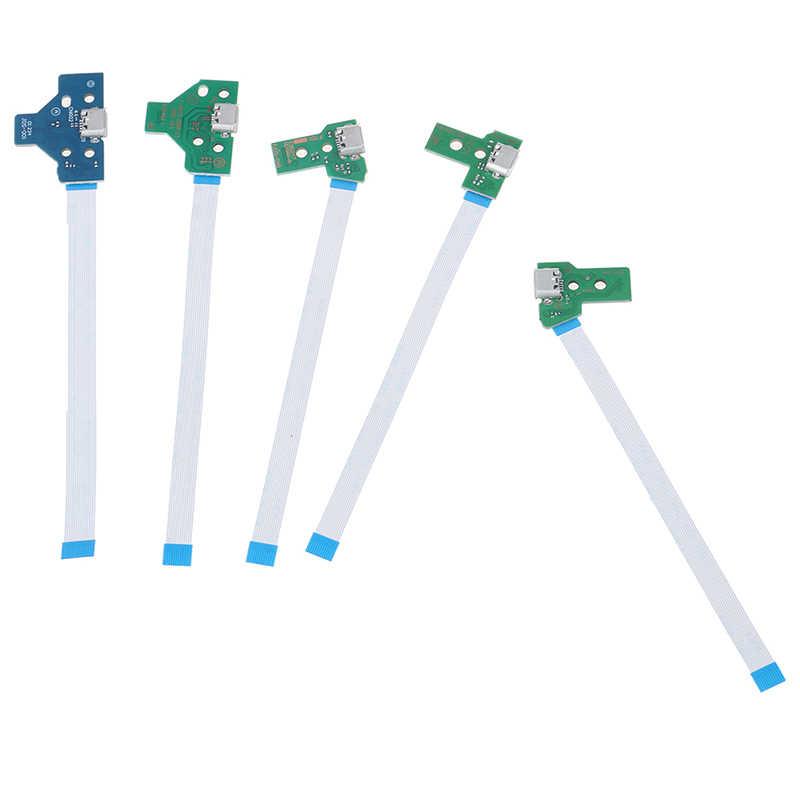 1pc gniazdo portu usb do ładowania płytka obwodu drukowanego do 12Pin JDS 011 030 040 055 14Pin 001 złącze do PS4 kontroler