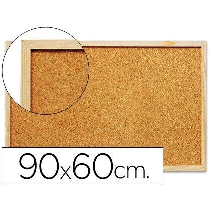 CORK BOARD Q-CONNECT 90X60 CM 'S MARCO WOOD