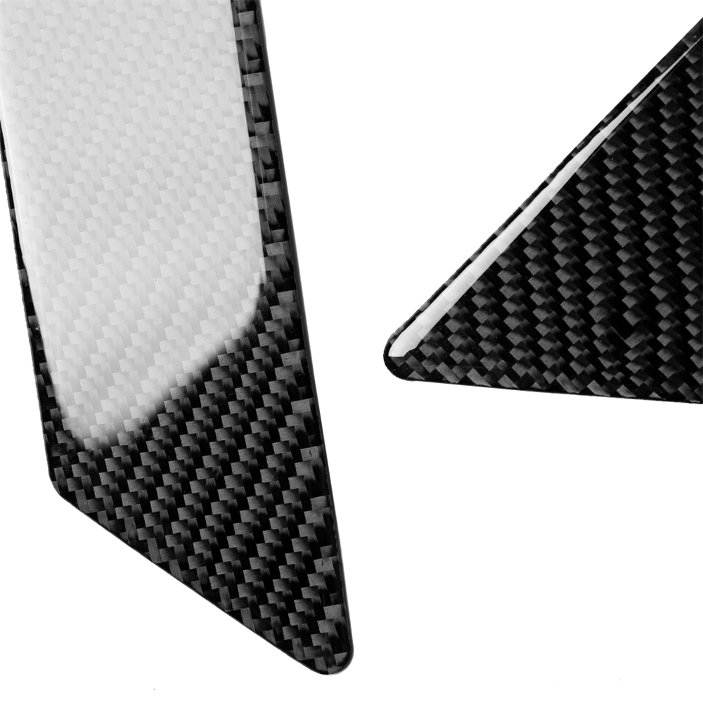 Купить с кэшбэком Car Decoration Window Column Reading Light Frame Car Sticker Cover Trim Stickers For Toyota Land Cruiser Prado Carbon Fiber