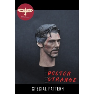Image 3 - JUST A TOY 1/6 Doctor Strang Head Sculpt Close Eyes Version for 12inch Action Figure DIY