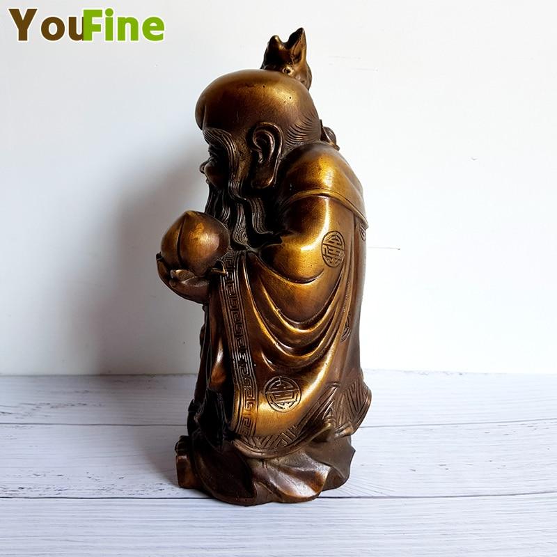 Brons verjaardag ster ornamenten koper verjaardag ster station als Shouxian Nanjixian traditionele Chinese verjaardag verjaardagscadeau - 3