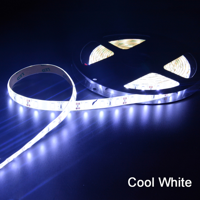 1m 2m 3m 4m 5m DC 12V 5630 LED Strip Lights Flexible LED Lights Strip Waterproof Fita 60 LED/M With Self adhesive Back Tape