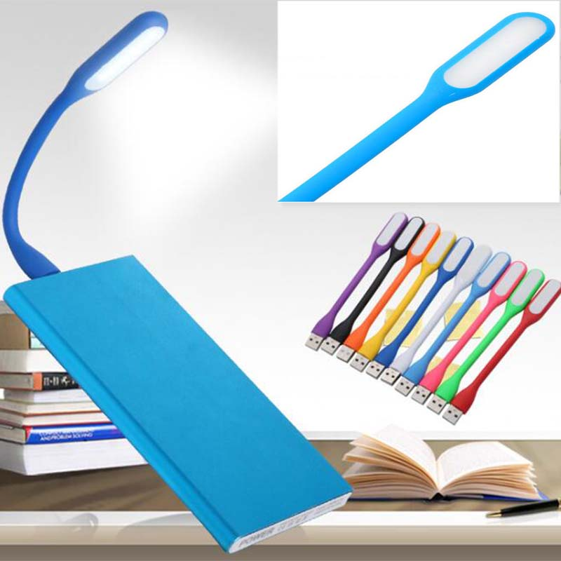 Portable Mini USB LED Light Ultra Bright Flexible 5W Book Lights Reading Lamp Use Power Bank Computer
