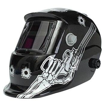HLZS-Solar Auto Darkening Welding Mask Big Screen Electric Welding Helmet Welder Cap Welding Lens For Welding Machine Terminator фото