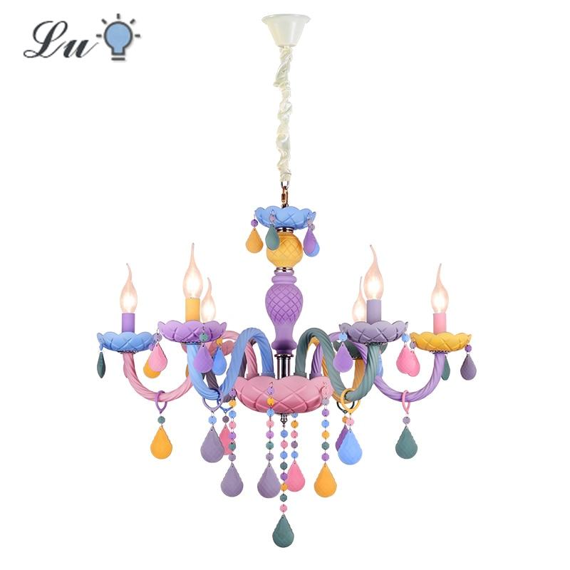 Vintage Pendant Lights Indoor E14 Bulbs Led Lighting Children Bedroom Lamps Girls Living Room Hanging Lamp Industrial Fixtures