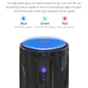 Image 5 - GIAHOL surveillance intelligente de la qualité de lair H11 Hepa filtre Purification bureau voiture Portable purificateur dair
