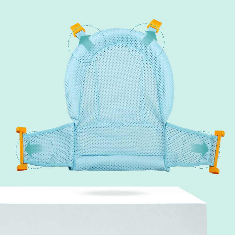 Baby Bad Sitz Unterstützung Matte Faltbare Baby Badewanne Pad & Stuhl Neugeborenen Badewanne Kissen Infant Anti-Slip Weiche komfort Körper Kissen