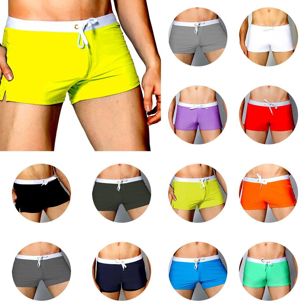 2020 Summer New Fashion Quick Dry Clothing Men's Casual Shorts Household Man Shorts G Pocket Straps Inside Trunks Beach Shorts