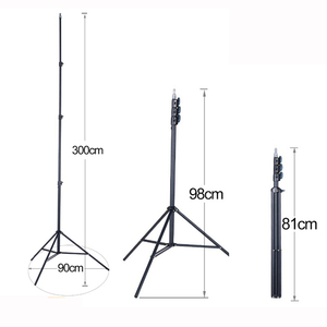 """Image 1 - FIRECORE 2.2M/3M Laser Level Tripod Laser Adjustable 3/4 Knots Height Tripod/Bracket 1/4"""" With Adapter"""
